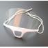 Защитный экран-маска для косметолога, бьюти мастера (многоразовая) фото пирсинг 1